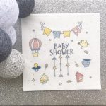 Customize Napkin Baby Shower