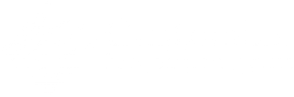 Customize Napkins blanco